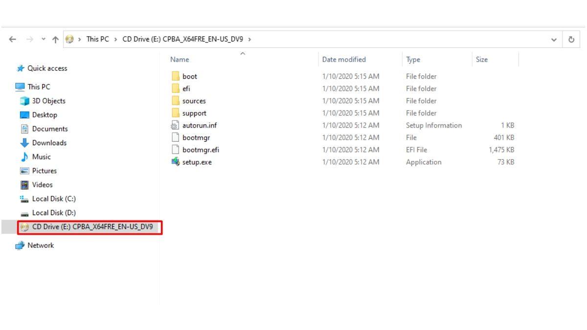 Disk drive virtual baru