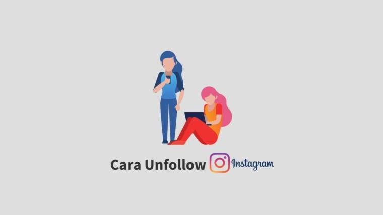 Cara Unfollow Instagram
