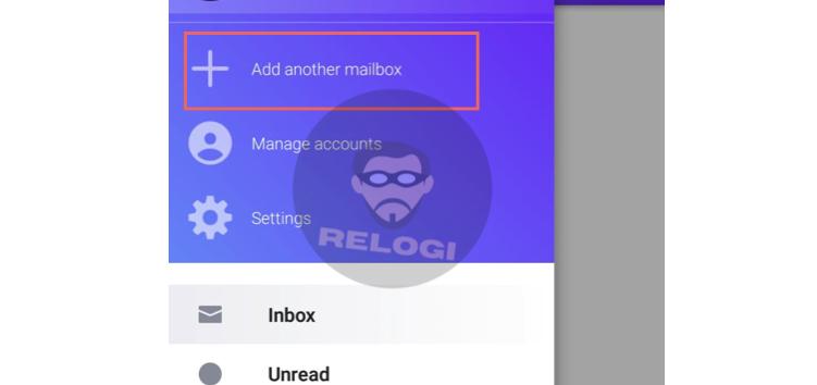 Kemudian pilih Tambahkan kontak email/Add Another Mailbox.