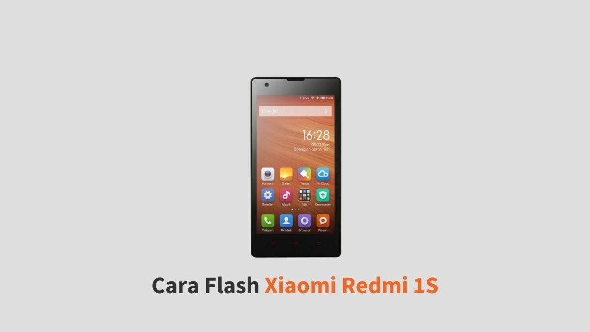 Cara Flash Xiaomi Redmi 1S