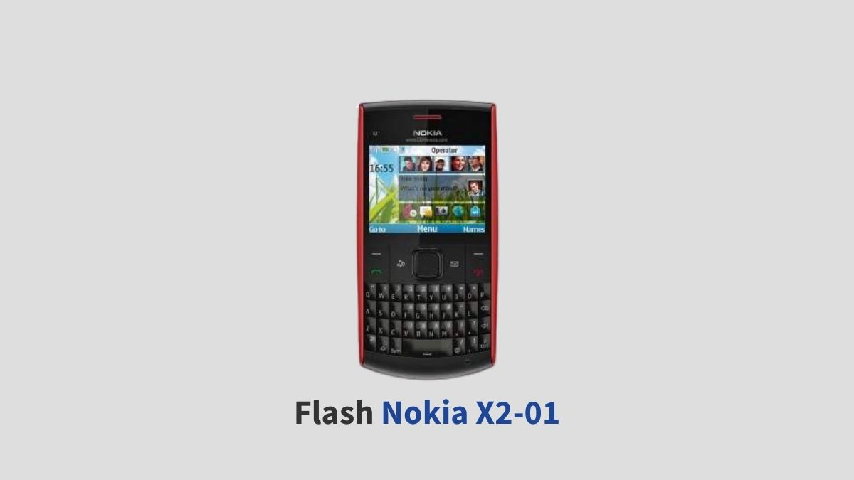 Flash Nokia X2-01