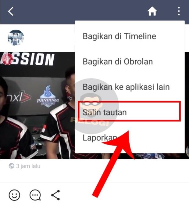 copy link video line
